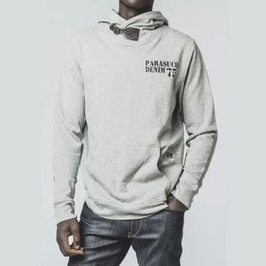 NEW Parasuco Men's Gray Hoodie Sweatshirt Size S